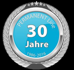 30 Jahre-permanent-line